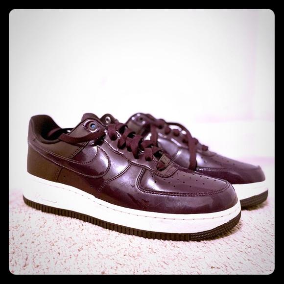 Nike Shoes | Nike Air Force Dark Purple